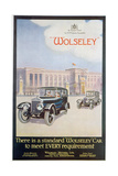 Advert for Wolseley Motor Cars, 1922 Giclee Print