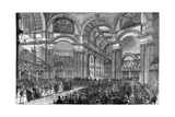Thanksgiving Service in St Paul's Cathedral, London, 1900 Giclee Print