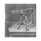 Spectroscopic Apparatus Used by Robert Wilhelm Bunsen and Gustav Robert Kirchhoff, C1895 Giclee Print