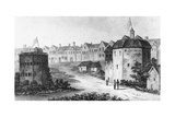 Globe Theatre, Bankside, Southwark and the Bear Garden, C1597 Giclee Print