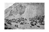 Convoy of Muleteers at the Foot of the Cordillera, South America, 1895 Giclee Print