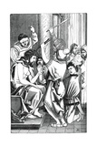 Jesus Crowned with Thorns Giclee Print by Albrecht Durer