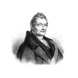 Franz Xaver Gabelsberger, German Inventor of Gabelsberger Shorthand Giclee Print