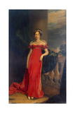 Portrait of Grand Duchess Maria Pavlovna of Russia, 1822 Giclee Print by George Dawe