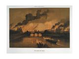 Les Quais De Paris, 24 May 1871 Giclee Print
