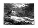 Dunstanburgh Castle, C1850 Giclee Print