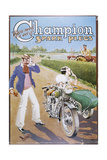 Poster Advertising Champion Spark Plugs Giclee Print