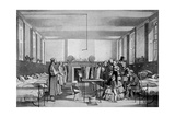 The Royal Visit to Brompton Hospital, 1850s Giclee Print by John Tenniel