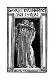 Notturno, by Gabriele D'Annunzio, 1921 Lámina giclée