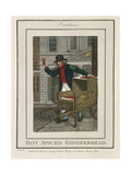 Hot Spiced Gingerbread, Cries of London, 1804 Giclee Print by William Marshall Craig