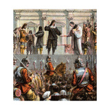 Execution of Charles I, 1649 Giclee Print