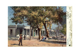 The Old Palace, Santa Fe, New Mexico, USA, C1900s Giclee Print by  Gilette
