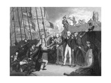 Surrender of the Spanish Ship 'San Josef' after the Battle of Cape St Vincent, 1797 Giclee Print by Daniel Orme