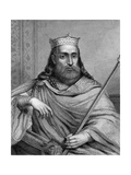King Clotaire I of the Franks Giclee Print by  Weber