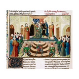 The Coronation of Henry IV of England, Ca 1470 Gicléetryck