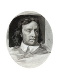 Oliver Cromwell, English Military Leader and Politician,1657 Giclee Print by Samuel Cooper