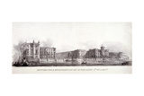 Deptford Pier and the River Thames, Greenwich, London, C1835 Giclee Print