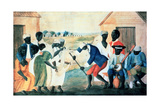 The Old Plantation, 1800 Giclee Print