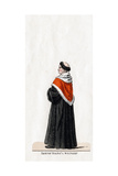 Stephen Gardiner, Costume Design for Shakespeare's Play, Henry VIII, 19th Century Giclee Print