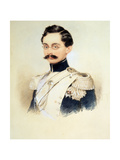 Portrait of Adolphe I, Duke of Nassau, Grand Duke of Luxembourg (1817-190), 1840S Giclee Print by Moritz Michael Daffinger