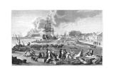 The Port of Rochefort Giclee Print by Claude-Joseph Vernet