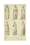 Statues Formerly on the Outside of Guildhall, City of London, 1783 Giclee Print by John Carter