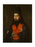 Portrait of Archbishop Pavel (Ponomare) of Rostov and Yaroslavl (1745-180), 1836 Giclee Print by Jan Ksawery Kaniewski