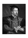 Charles V, King of Spain and Holy Roman Emperor from 1519, 1835 Giclee Print