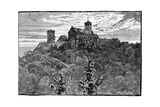 The Castle of Wartburg, 1900 Giclee Print