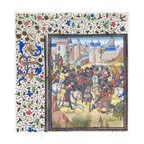 Victory of Richard the Lionheart over Philip Augustus in 1198 Giclee Print