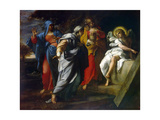 Holy Women at Christ' S Tomb, Second Half of the 16th Century Giclee Print by Annibale Carracci