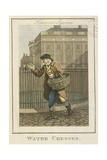 Water Cresses, Cries of London, 1804 Giclee Print by William Marshall Craig