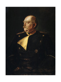 Portrait of Chancellor Otto Von Bismarck in Uniform, (1815-189), 19th Century Giclée-Druck von Franz Von Lenbach