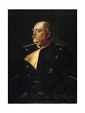 Portrait of Chancellor Otto Von Bismarck in Uniform, (1815-189), 19th Century Giclee Print by Franz Von Lenbach