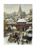 Moscow in the 17th Century, End of 19th - Early 20th Century Giclee Print by Appolinari Mikhaylovich Vasnetsov