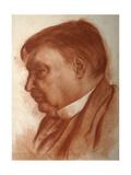 Portrait of the Composer Alexander Glazunov, (1865-193) Giclee Print by Alexander Yevgenyevich Yakovlev