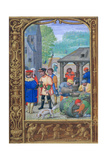 October, Wine-Making, Early 16th Century Giclee Print