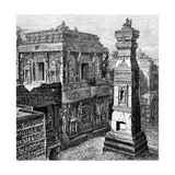 The Palace of Kailash, Ellora, India, 1895 Giclee Print