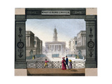 St Marylebone Parish Church, London, C1825 Giclee Print