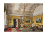 Interiors of the Winter Palace, the First Reserved Apartment, 1866 Giclee Print by Eduard Hau