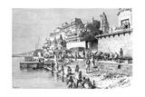 Benares (Varanas), India, 1895 Giclee Print by  Taylor