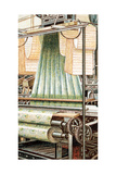 A Jacquard Loom, 1915 Giclee Print