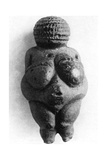 Venus of Willendorf, Stone Age Oolitic Limestone Carving, C24,000-C22,000 BC Giclee Print
