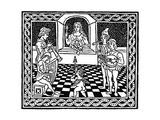 Venetian Woodcut, C1500 Giclee Print