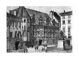 Palace of Justice of Grenoble, France, 1882-1884 Giclee Print