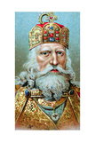Charlemagne, King of the Franks, C1920 Giclee Print