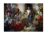 The Trial of Sir William Wallace, 1925 Giclee Print by William Bell Scott
