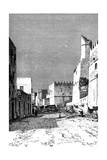 Leonec Street, Sfakes, North Africa, 1895 Giclee Print by  Taylor