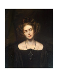 Portrait of the Opera Singer Henriette Sontag, (1806-185), 1831 Giclee Print by Paul Hippolyte Delaroche