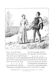 It Was a Lover, 1895 Giclee Print by Leonard Leslie Brooke